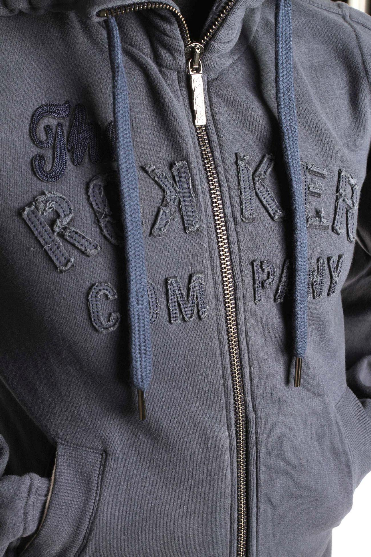 c6b07c48de3948 ... Rokker Rokker Womens Zip Hoodie TRC, dark navy - C5100208 ...