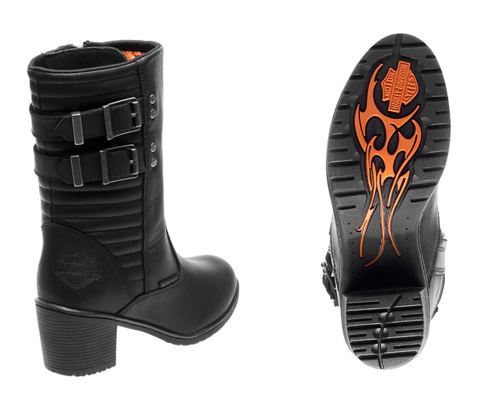 harley davidson damen stiefel kirkley im thunderbike shop. Black Bedroom Furniture Sets. Home Design Ideas