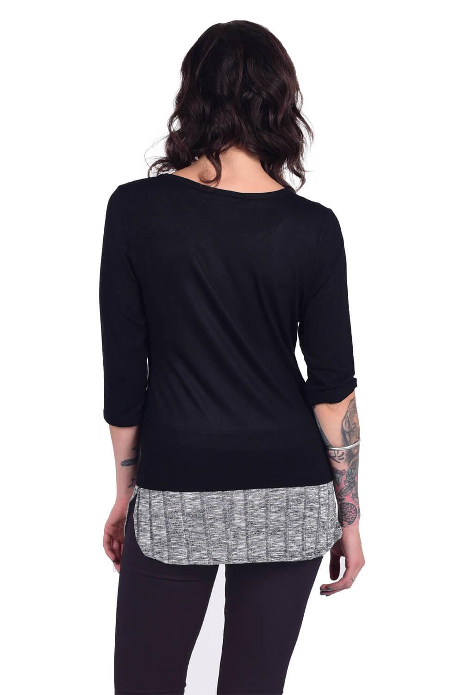 harley davidson damen 3 4 shirt fire it up im thunderbike shop. Black Bedroom Furniture Sets. Home Design Ideas