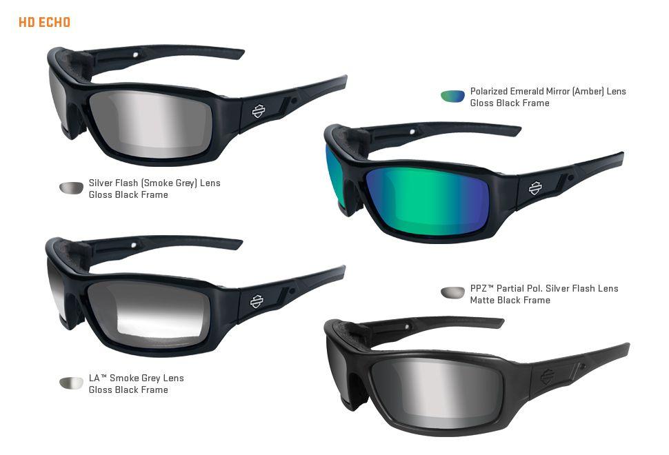 c11762635f9 ... H-D Motorclothes Harley-Davidson Wiley X Sunglasses Echo - HDECH ...