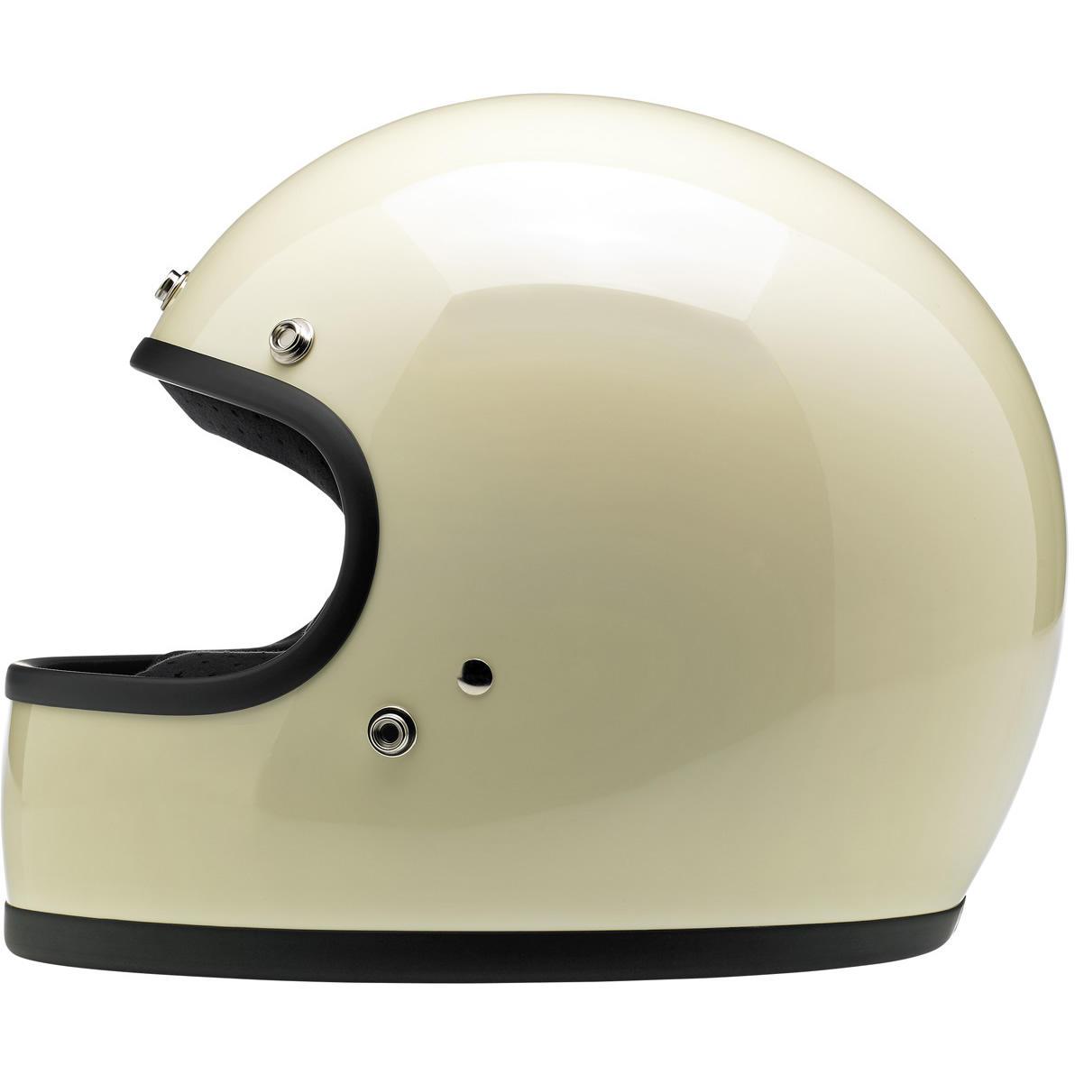 biltwell gringo helm ece gloss vintage white thunderbike. Black Bedroom Furniture Sets. Home Design Ideas