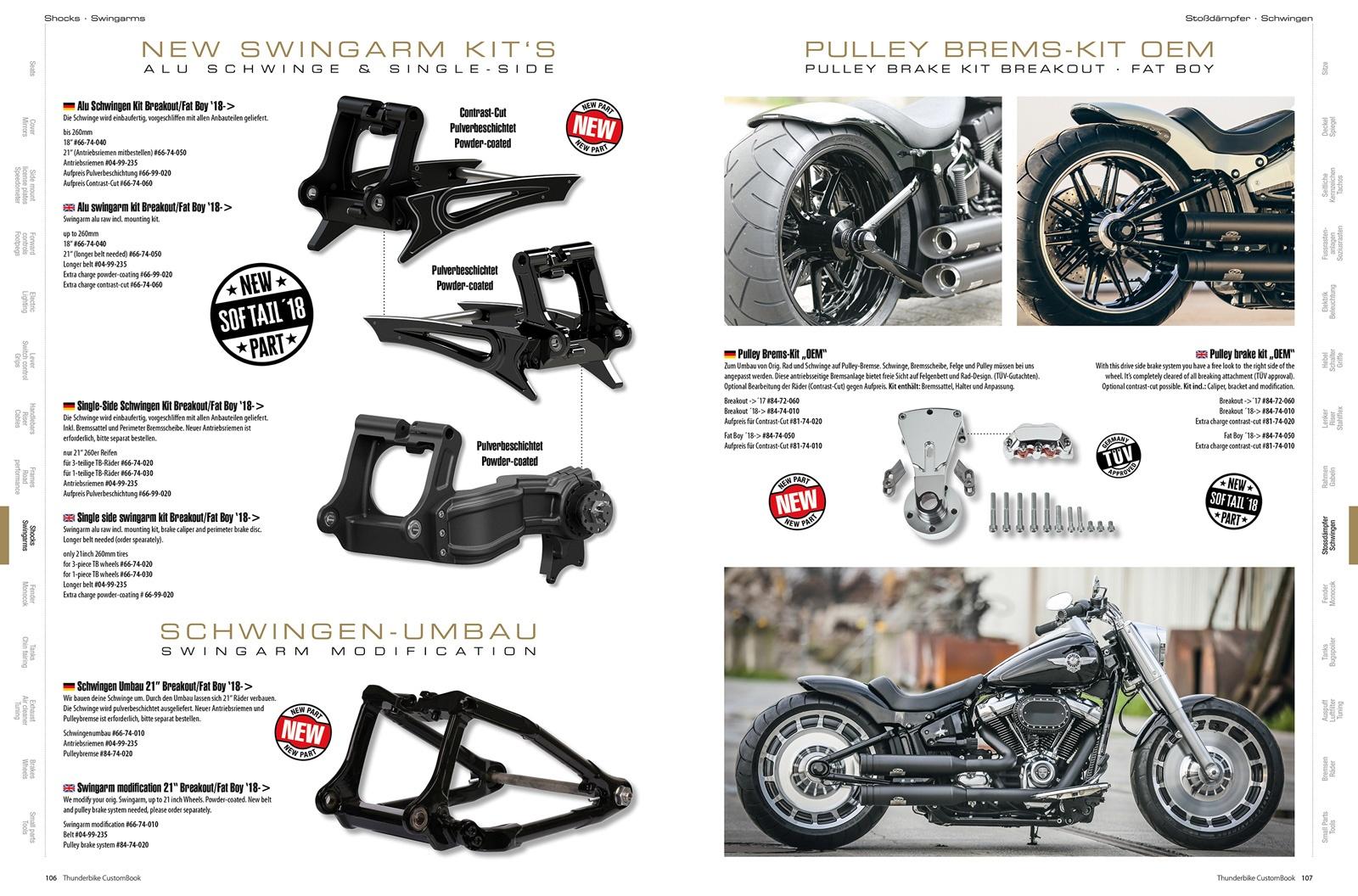 Thunderbike Katalog Custombook 5 (33th Anniversary Edition) im ...