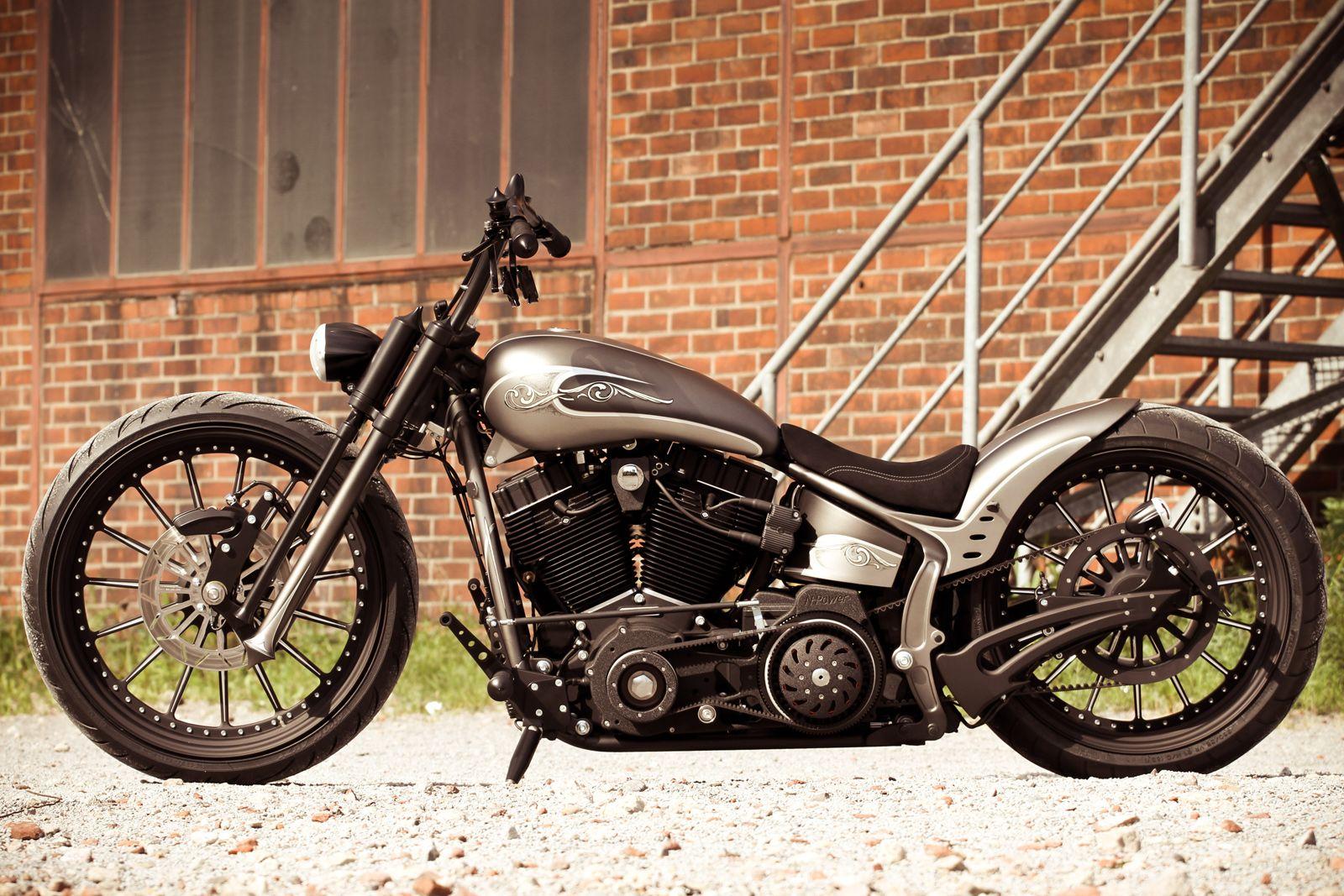 Thunderbike Air Ride Luftfahrwerk für Softail ab 00 ohne ABS