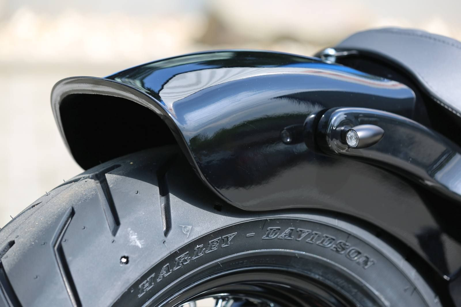 Harley Softail Fenders : Rear fender quot slim for softail at thunderbike shop