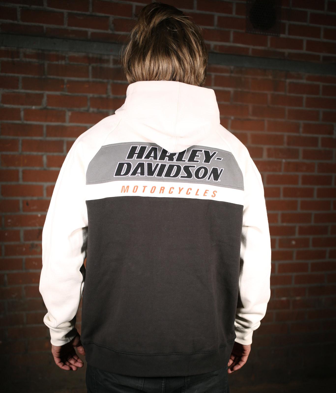 99161 19VM Harley Davidson Hoodie Racing im Thunderbike Shop
