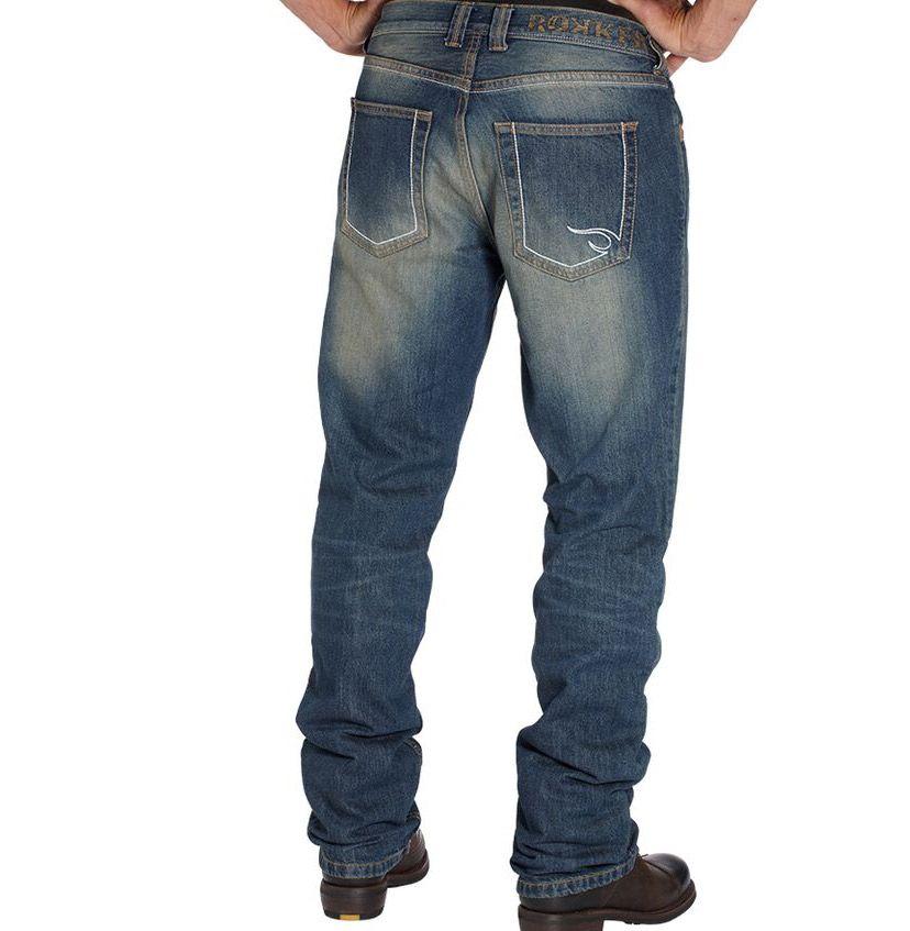 ce99620cef2142 Rokker Original Herren Jeans mit Kevlar im Thunderbike Shop
