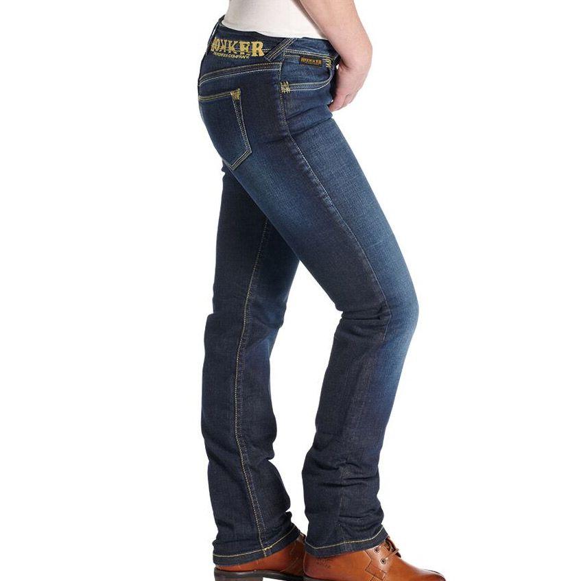 4053e57c3d6 Rokker The Lady women´s Biker Jeans in Comfort Fit