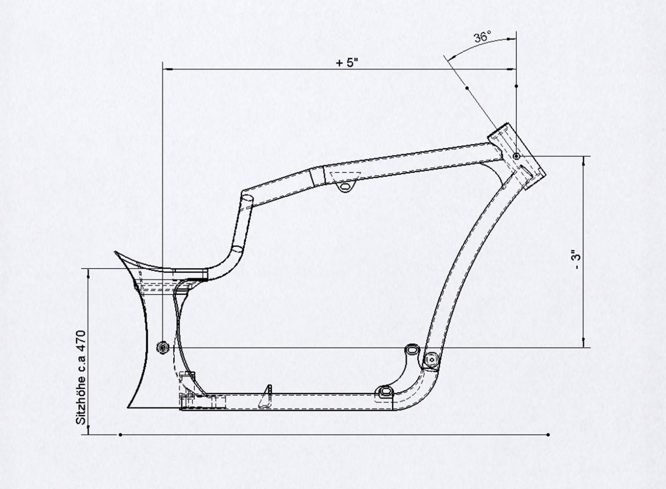 Rahmen-Kit R-Odynamic 260/21\