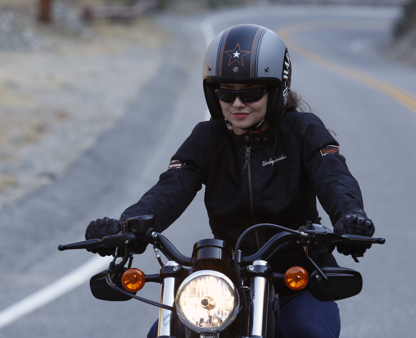 Harley-Davidson Grey Star Retro 3//4 Jet Helm EC-98320-15E XL